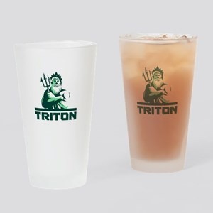 Triton Arms Crossed Trident Front Retro Drinking G