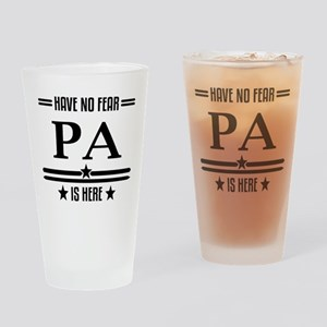Pa Drinking Glass