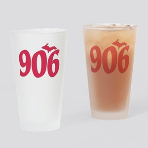906 Yooper UP Upper Peninsula - Pin Drinking Glass