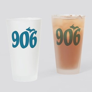 906 Yooper Blue Drinking Glass