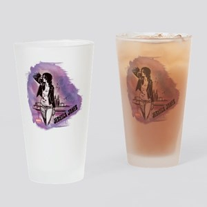 Jessica Jones Purple Sky Drinking Glass