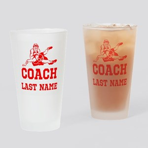 Wrestling Coach Drinking Glass