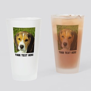 Dog Photo Personalized Drinking Glass