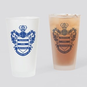 Queens Park Rangers Crest Drinking Glass