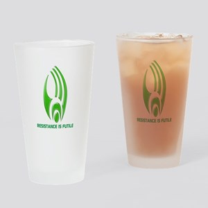 Borg Symbol Personalized Drinking Glass