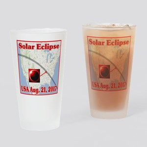 Solar Eclipse USA 2017 Drinking Glass