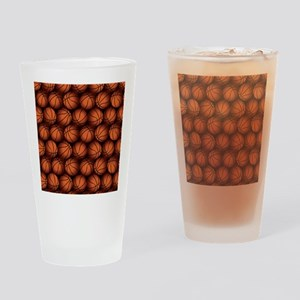 Basketball Balls Drinking Glass