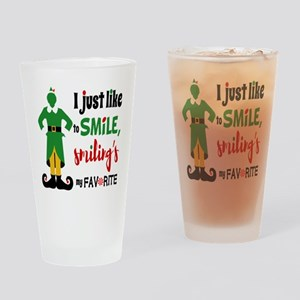 Buddy The Elf Smiling Drinking Glass