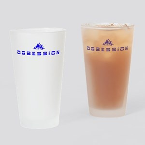 Obsession (mountains) Drinking Glass