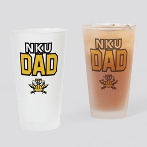 Northern Kentucky NKU Norse Dad Drinking Glass