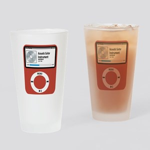 Ipad Acoustic Guitar Drinking Glass