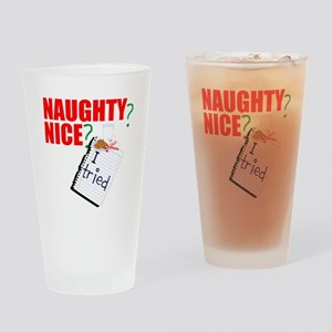 naughty or nice? I tried Drinking Glass