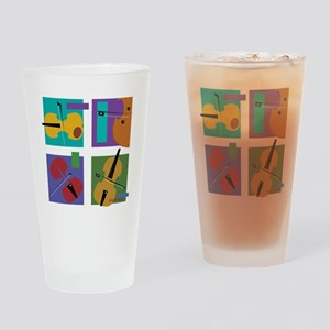String 4-tet Drinking Glass