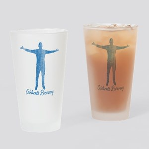Celebrate Recovery Drinking Glass