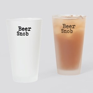 Beer Snob Drinking Glass