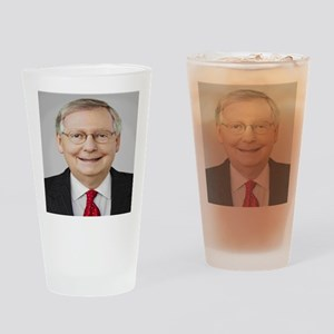 Mitch McConnell Drinking Glass