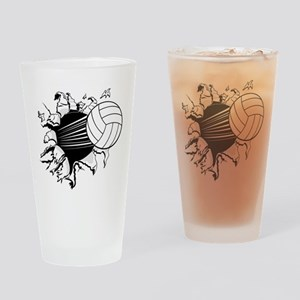 Breakthrough Volleyball Pint Glass