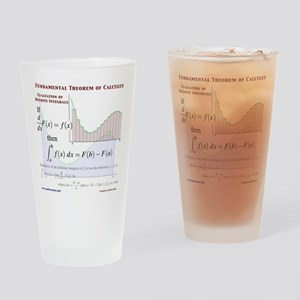 Fundamental Theorem of Calculus Drinking Glass