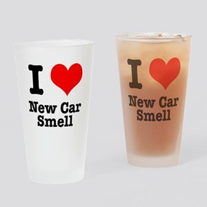 I Heart (Love) New Car Smell Pint Glass