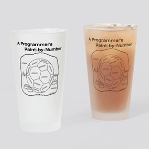 Programmer Drinking Glass