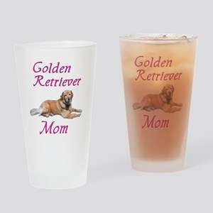 GoldenMom Drinking Glass