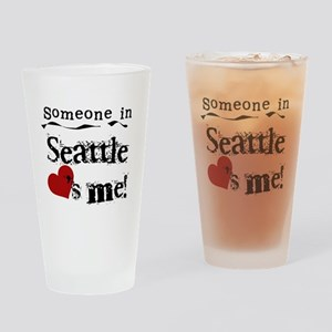 Seattle Loves Me Pint Glass