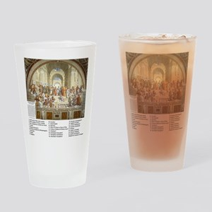 Who is in The School Of Athens Drinking Glass