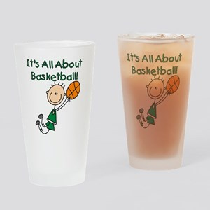 All About Basketball Pint Glass