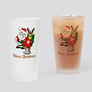 Dentist Christmas Drinking Glass