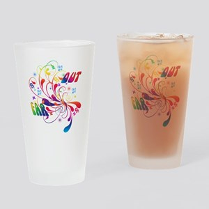 Far Out Drinking Glass