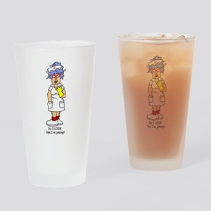 Nurse No Joking Pint Glass