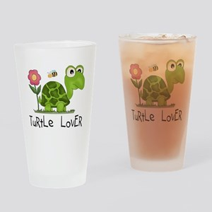 Turtle Lover Pint Glass
