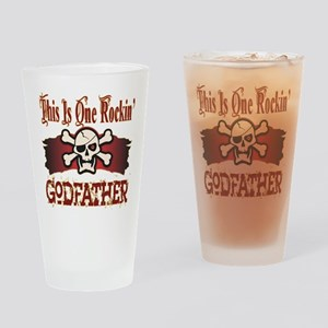 Rockin Godfather Pint Glass