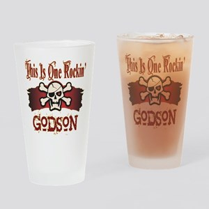 Rockin Godson Pint Glass