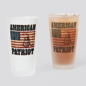 American Patriot Pint Glass