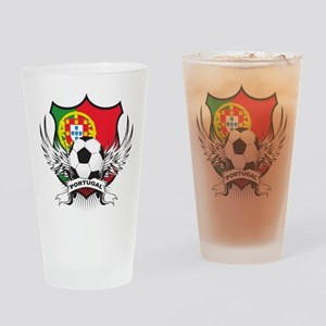 Portugal soccer Pint Glass