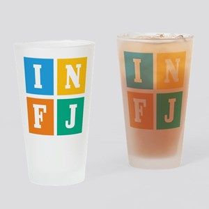 Myers-Briggs INFJ Drinking Glass