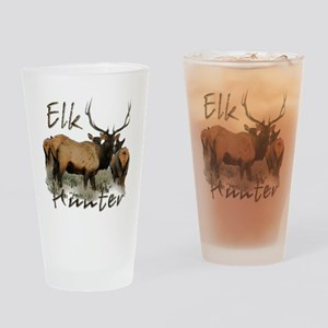 Elk Hunter Pint Glass