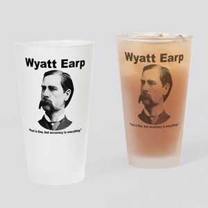 Earp: Accuracy Drinking Glass