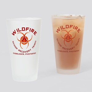 Andromeda Strain Wildfire Pint Glass