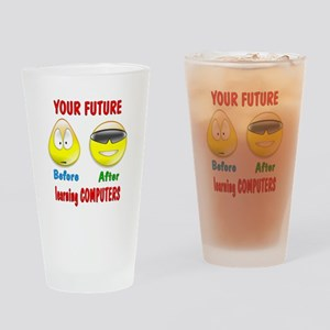 Computers Future Pint Glass