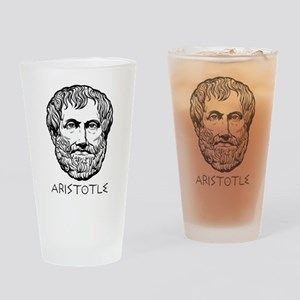 Aristotle Pint Glass