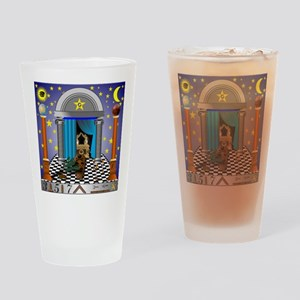 King Solomon's Temple Drinking Glass
