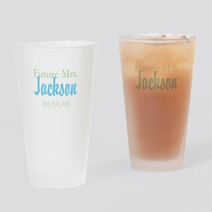 Custom Future Mrs. Drinking Glass