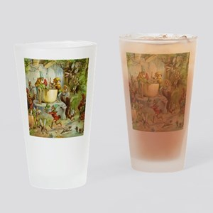 Gnomes, Elves & Forest Fairies Drinking Glass