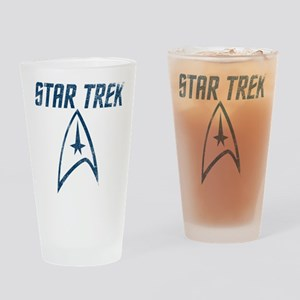 Vintage Star Trek Drinking Glass