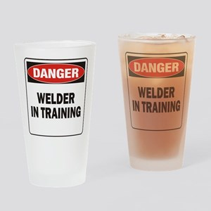 Welder Drinking Glass