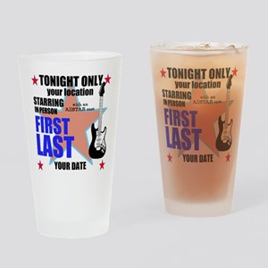 Music Poster Drinking Glass