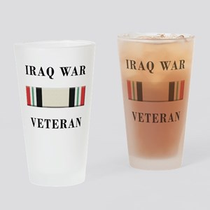 Iraq War Veterans Drinking Glass
