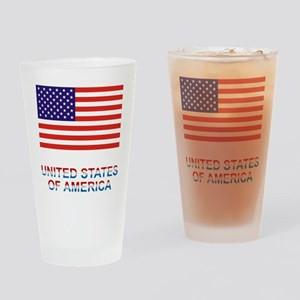 U.S.A. Drinking Glass